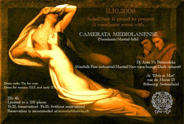 Camerata Mediolanense - 11.10.08