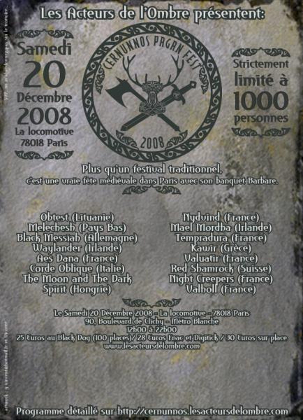 Cernunnos Pagan Festival 2008