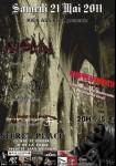 ANTROPOFAGO + HINDVIR + CHIPPEN DEATH + INSAIN, 21 mai 2011