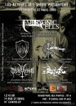 Black metal is rising 2009 : EMBRYONIC CELLS + FUNERAL DAWN + FIR BOLG + CRUXIFICTION + CAVE GROWL