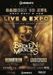 concert broken mirrors 18avril
