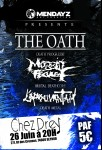 L'épouvantail + Morbid Feculent + The Oath Seynod 26/06/2015