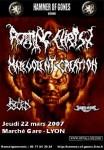 Rotting Christ - Flyer Lyon 22.03.07