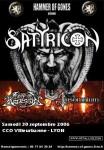 Satyricon - Lyon 30.09.06