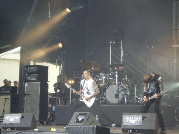 Bleeding Through - Hellfest 2008