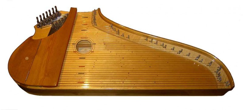 Illustration d'un Kantele