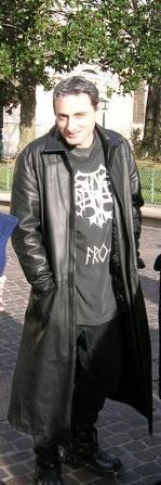 Philippe Mesgny, auteur de Sang Guerrier