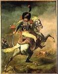Théodore Géricault - Officier de chasseurs à cheval de la garde impériale chargeant, 1812