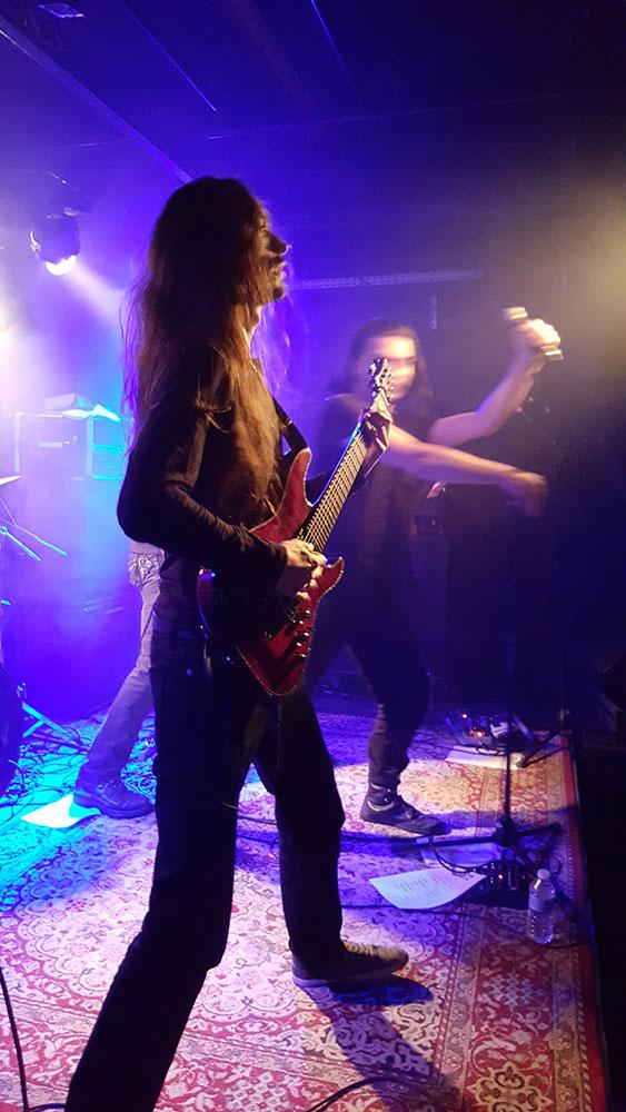 Barus - Dark Night II, Brin de Zinc, Chambéry, 07/11/2015
