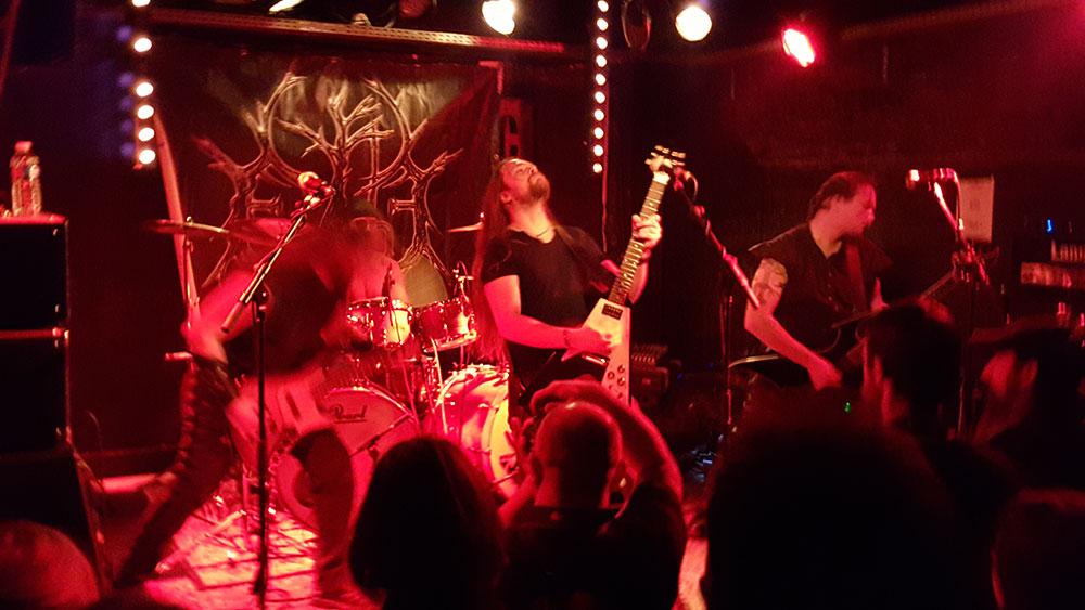 Evohé - Under Black Horizons Part V, Brin de Zinc, Chambéry, 12/12/2015