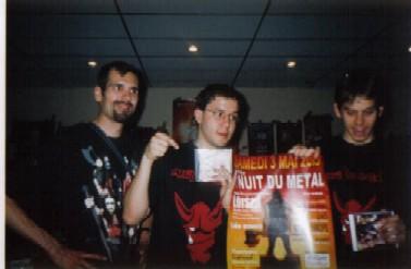 Metal Convention n°1 - Equipe de La Horde Noire et Festi'Metal