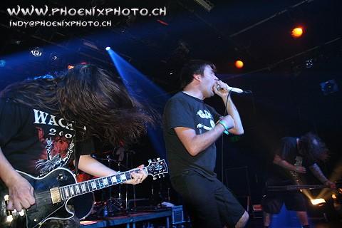 Napalm Death - Genève, 19 septembre 2009
