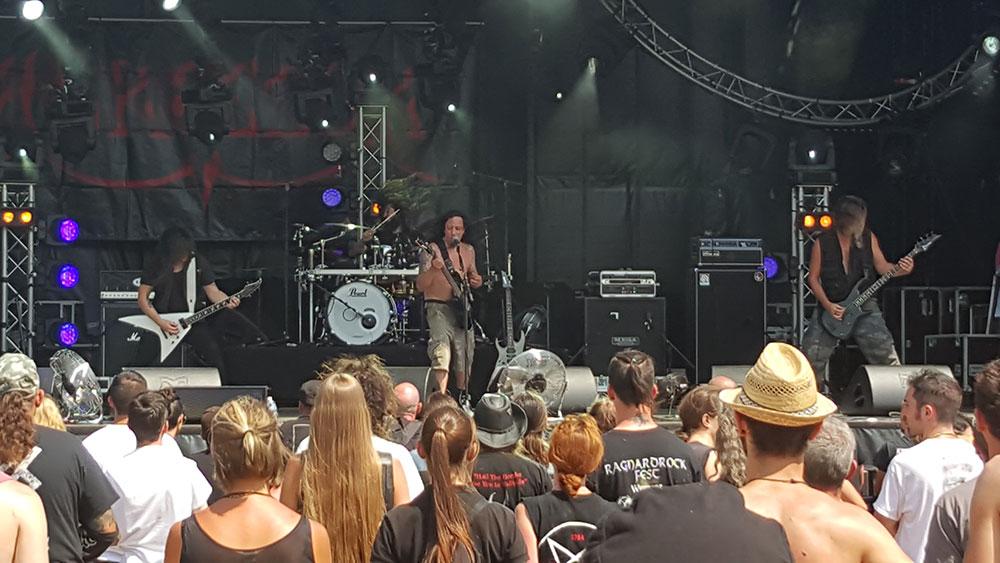 Agressor - Ragnard Rock Fest Part 1, 19/07/2015