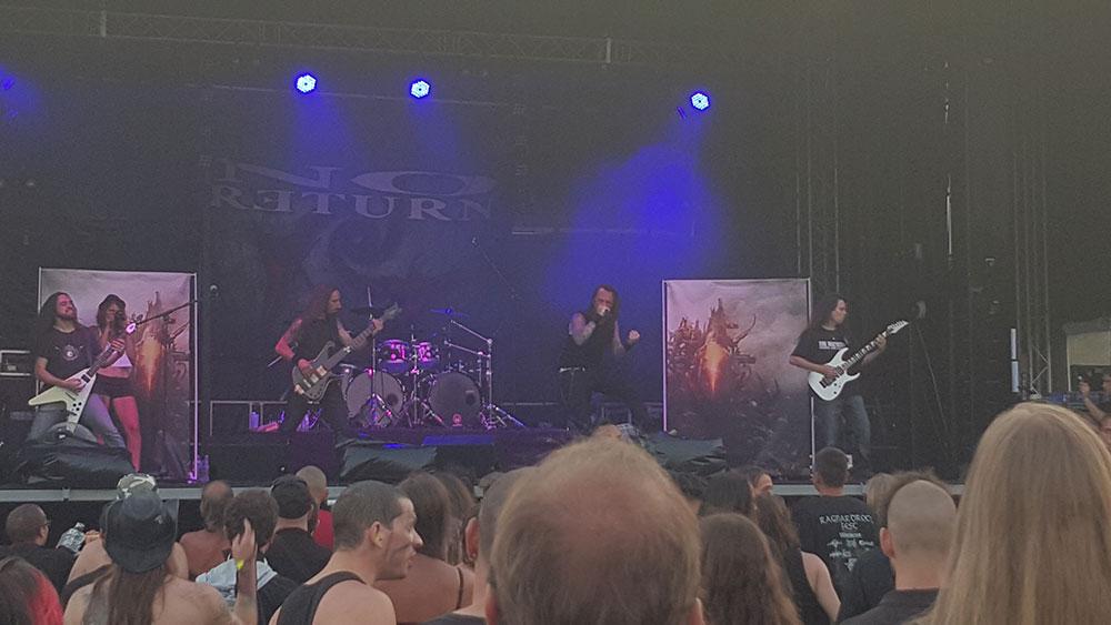 No Return - Ragnard Rock Fest Part 1, 18/07/2015