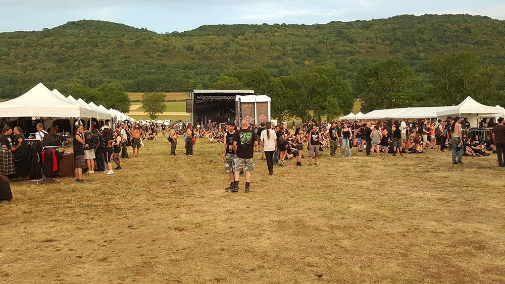 Scène du Ragnard Rock Fest Part 1