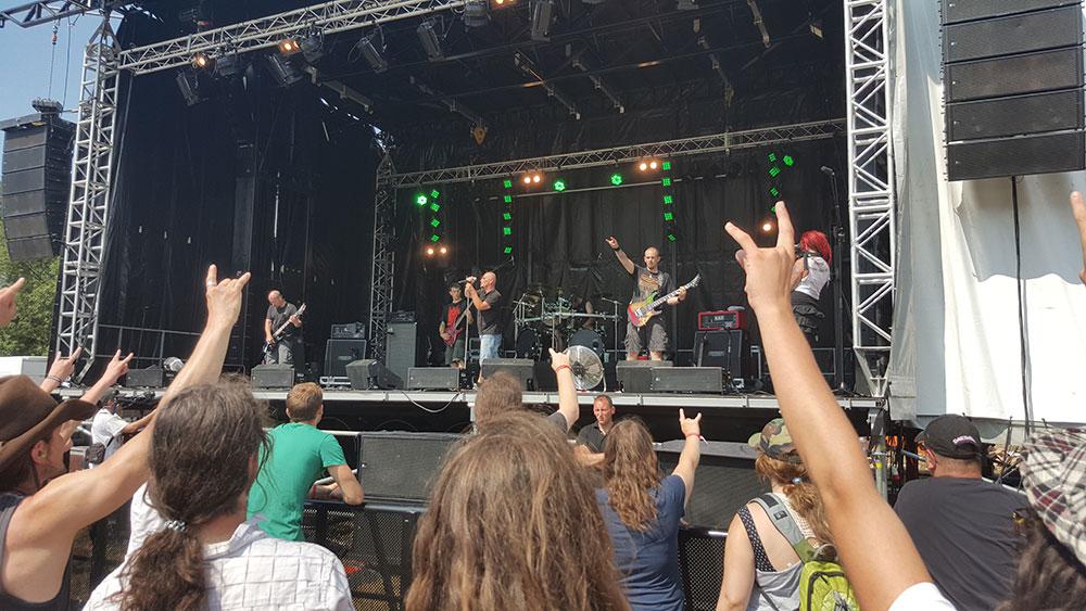Triops - Ragnard Rock Fest Part 1, 19/07/2015