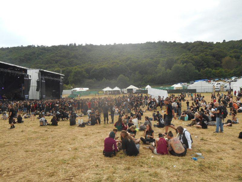 Ragnard Rock Fest 2 - Scènes
