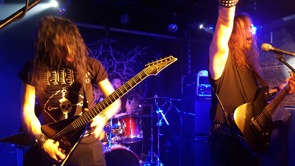 Temple of Baal - Dark Night II, Brin de Zinc, Chambéry, 07/11/2015