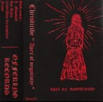 CHRISTICIDE - Apex of Negativity